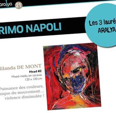 Milanda de Mont 2014 Winner Award for Head#2 Published in Brev Aralya edition Farnce.  BREVE_N21_P38